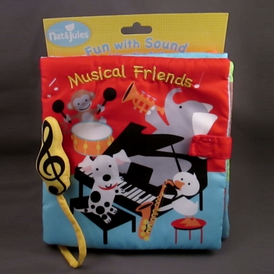 "Demdaco Nat & Jules ""Musical Friends"" Interactive Book"