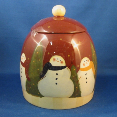 Demdaco (Winter Whimsy) cookie jar/canister