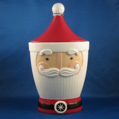 Santa Head Cookie Jar - Silvestri (Demdaco)