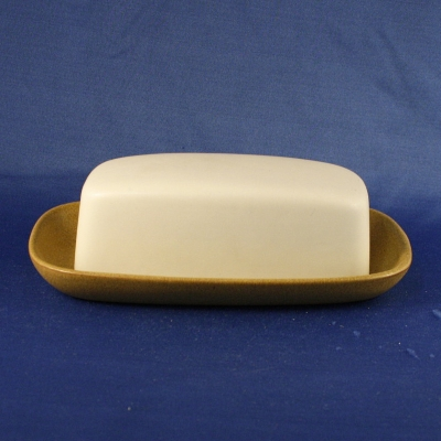 Denby Ode covered butter dish