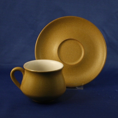 Denby Ode cup & saucer - Click Image to Close