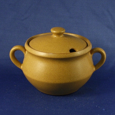 Denby Ode sugar bowl with lid AS IS