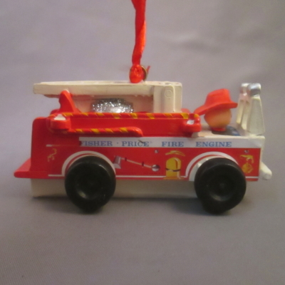 Fisher Price Fire Engine ornament