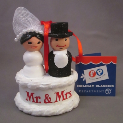 Fisher Price Little People Mr. & Mrs. ornament