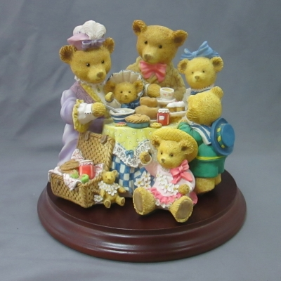 Henrietta's Tea Party (with base)