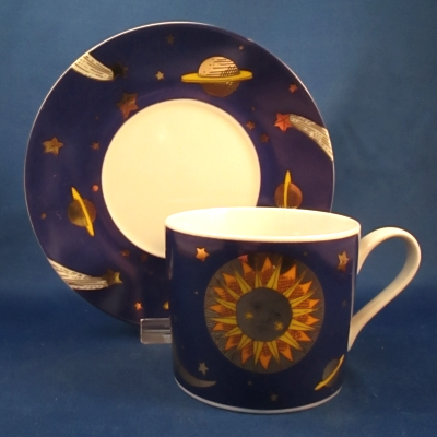 Department 56 Sun Moon and Stars P1483 cup & saucer