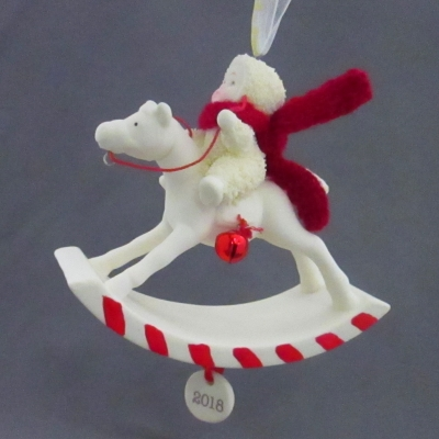 Peppermint Pony 2018 Dated ornament