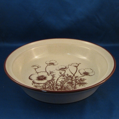 Noritake Desert Flowers round vegetable bowl