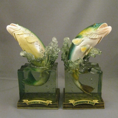 Rainbow Trout/Largemouth Bass Bookends