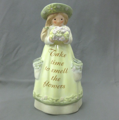 Take Time to Smell the Flowers - Seeds of Love (Enesco)