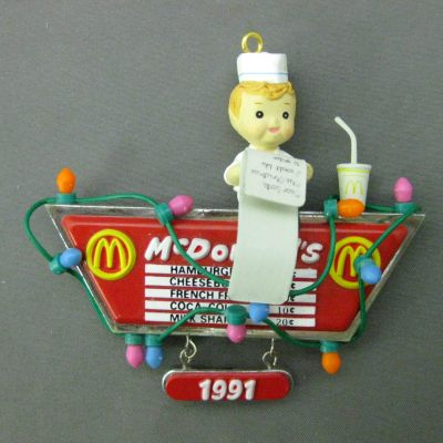 McDonald's Christmas Ornaments : Hoffman's Patterns of the Past ...