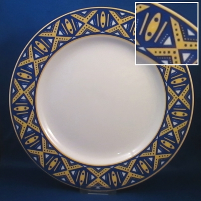 Epoch Markings dinner and salad plates