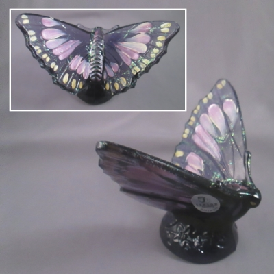 Hyacinth butterfly, handpainted