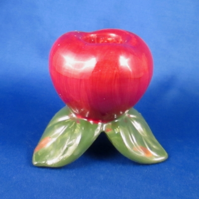 Franciscan Apple (English) single light candlestick