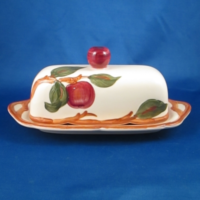 Franciscan Apple (American) covered butter dish