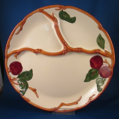 Franciscan Apple (American) grill plate