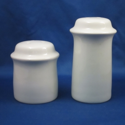 Franciscan Sea Sculptures - White, Primary salt & pepper