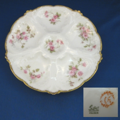 Chas Field Haviland 1375 oyster plate
