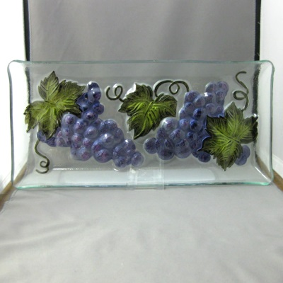 Grapes Tray by Gallerie II