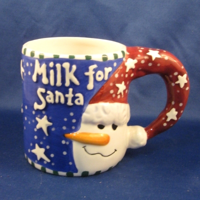 Ganz Bella Casa Milk for Santa mug