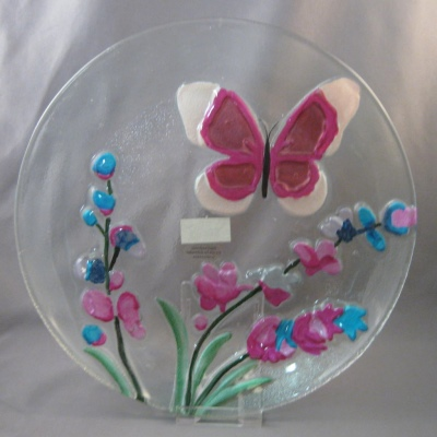 Butterfly plate by Ganz