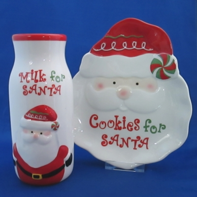 Ganz Milk & Cookies for Santa Set