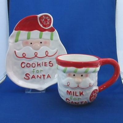 Milk and Cookies for Santa - Ganz