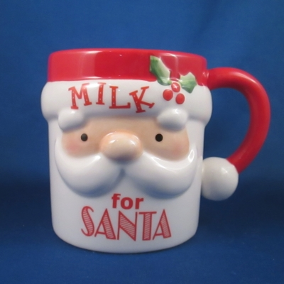 Ganz Milk for Santa mug