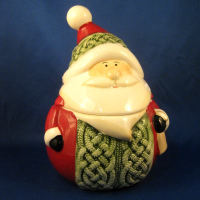 Ganz Santa cookie jar