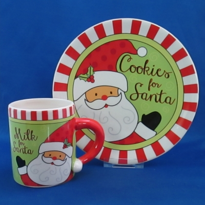 Giftcraft Cookies for Santa set (Milk & Cookies)