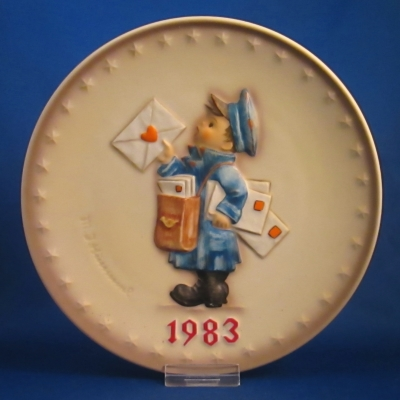 1983 Annual Plate - Letter carrier