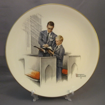 1980 Four Seasons Plate - Spring