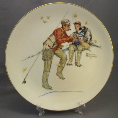 1980 Four Seasons Plate - Summer