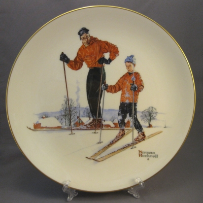 1980 Four Seasons Plate - Winter