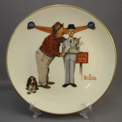 1983 Four Seasons Plate - Autumn