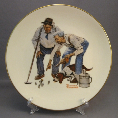 1983 Four Seasons Plate - Spring