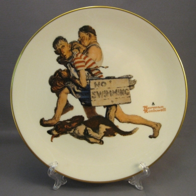 1983 Four Seasons Plate - Summer