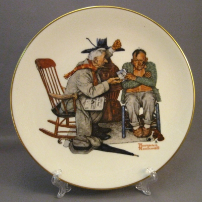 1983 Four Seasons Plate - Winter