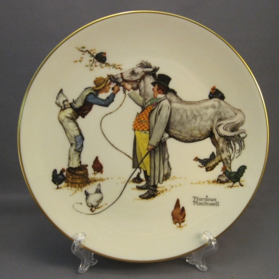 1984 Four Seasons Plate - Autumn