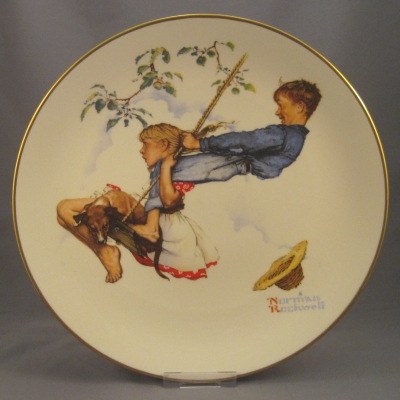 1972 Four Seasons Plate - Summer
