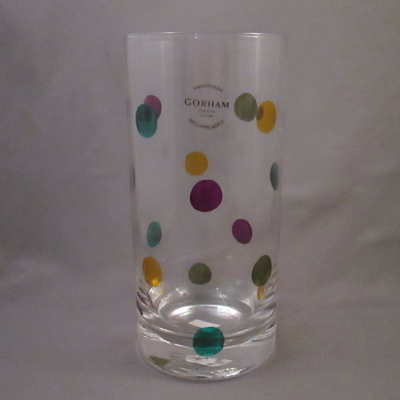 Gorham On the Dot highball glass