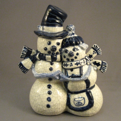 "H133 ""Snowmantic"" Couple"
