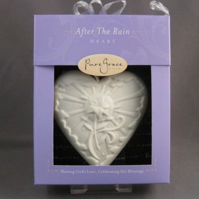 After the Rain Heart ornament