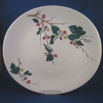 Hall Mulberry dinner plate