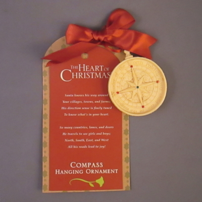Santa's Compass ornament