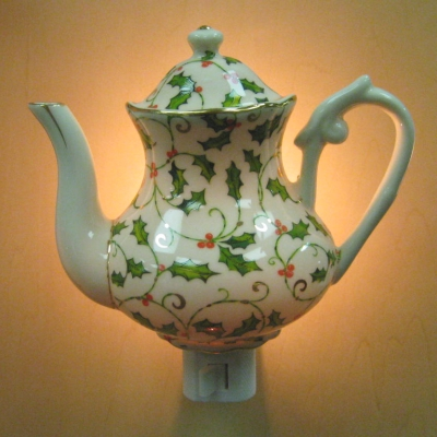 Teapot nightlight - Holly