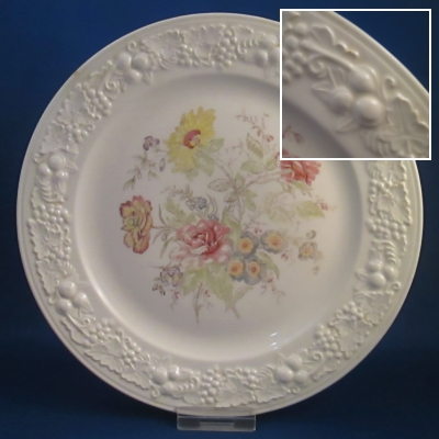 Homer Laughlin TH6 dinner, salad, and bread & butter plates