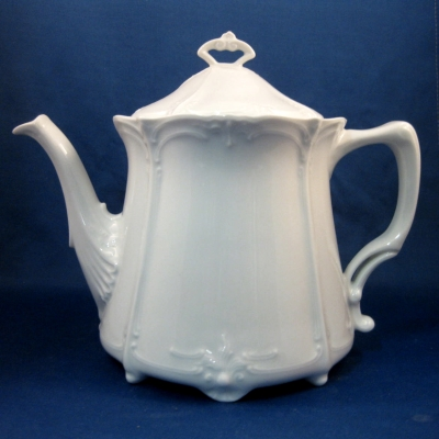 Hutschenreuther Baronesse White teapot