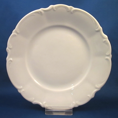Hutschenreuther Sylvia (all white) bread & butter plate