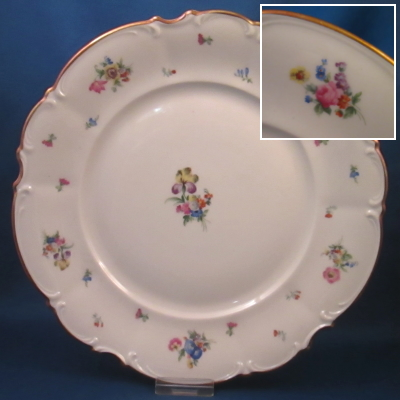 Hutschenreuther The Mayfair 7619 dinner plate